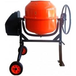 Бетоносмеситель AMIX BM-200L (объем барабана 200л, мощность двигателя 800 Вт)