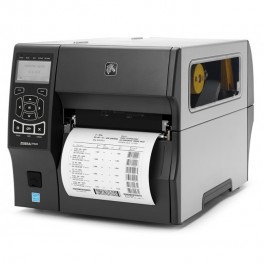 Термотрансферный принтер Zebra ZT410 (отделитель и внутренний смотчик подложки)